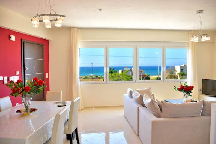 Modern apartment with great sea view