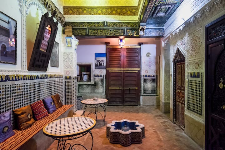 Riad Malak - Room Aîcha - Fes - Bed & Breakfast