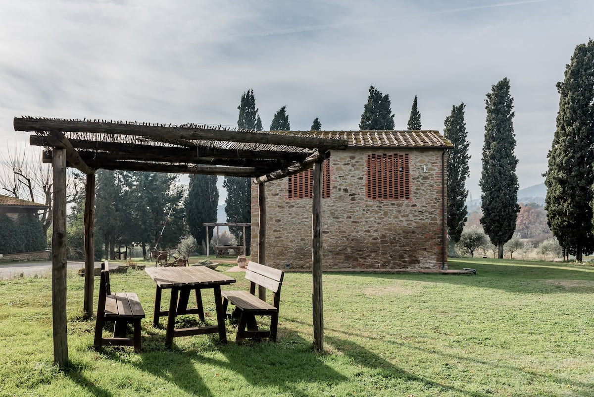 Explore Nature from a Farm in the Middle of Chianti Wine Country