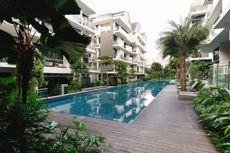 Tropical oasis 15' away from city - Singapur - Wohnung