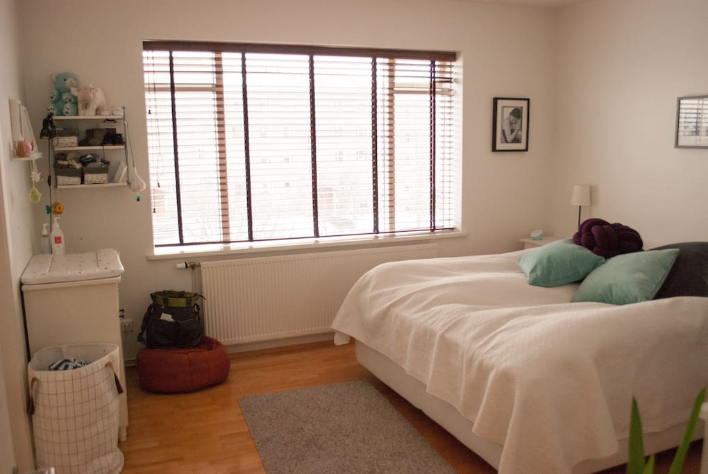 Master bedroom (200x200cm bed).  Duvet and linen included.