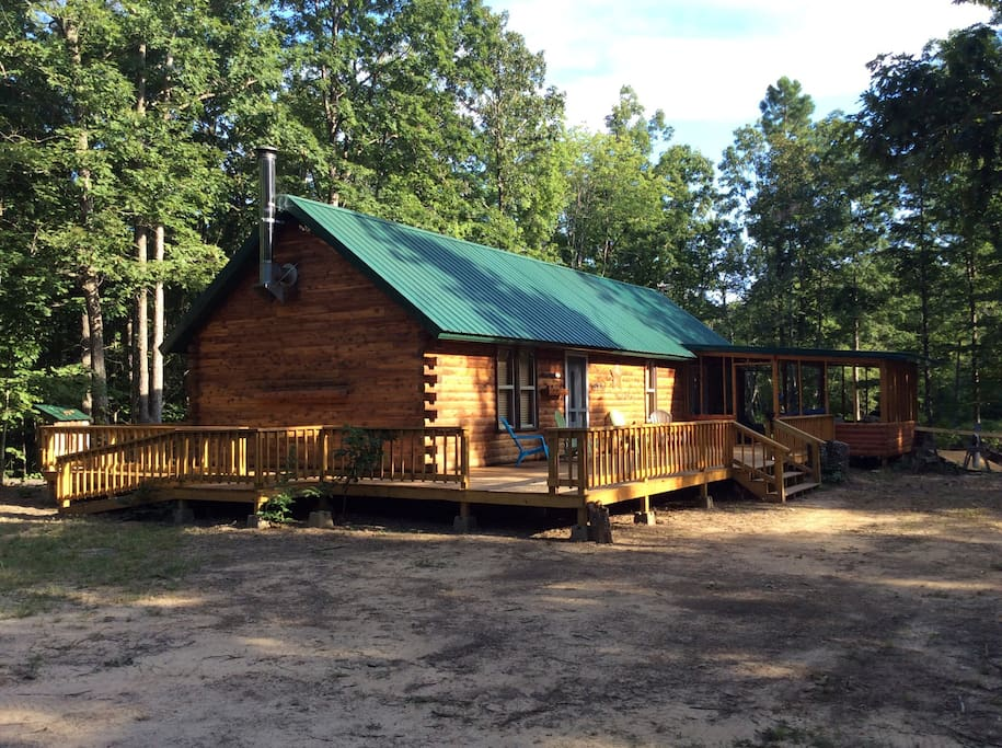 panther cabin in the ozark national forest cabins for