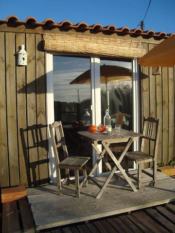 Relaxing Cottage on Organic Farm - Rogil - Casa de camp