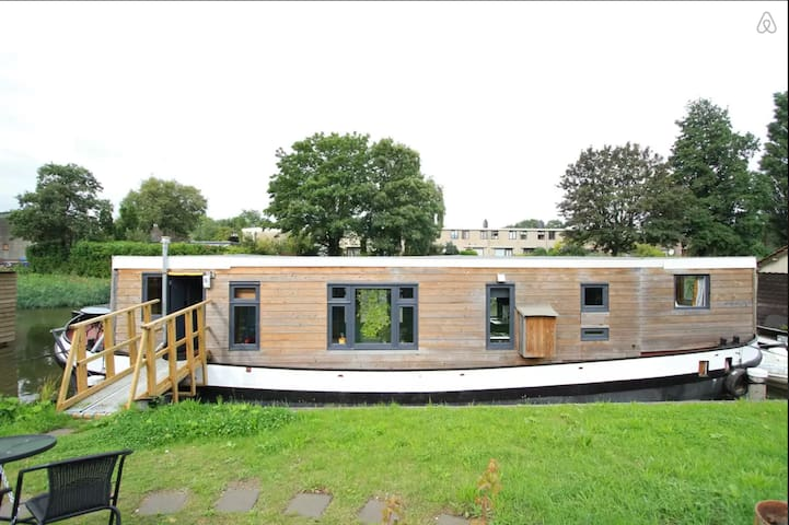 Characteristic Houseboat B&B (4p) - Amsterdam - Bed & Breakfast