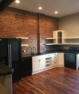 "Executive ""trendy"" downtown loft - Topeka - Loftlakás"
