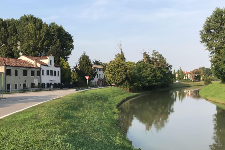 La casa fronte fiume Brenta