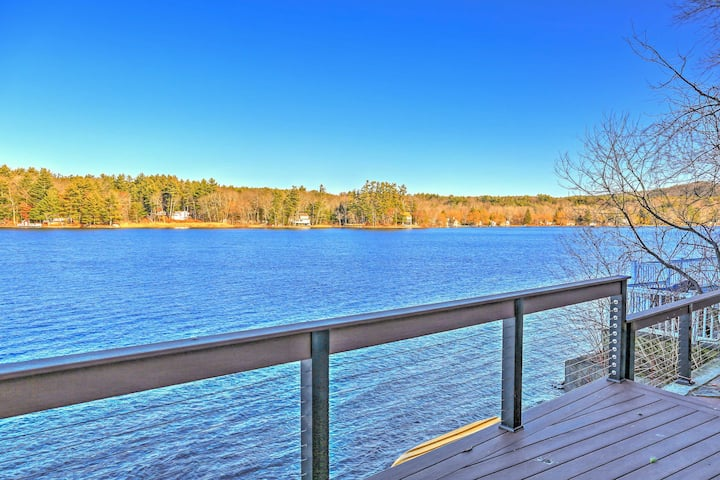 Waterfront Lake Buel Cottage: 7 Mi to Monument Mtn