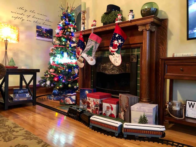 Delight your family with a Polar Express Christmas