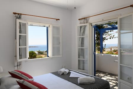 Sea view from the main bedroom