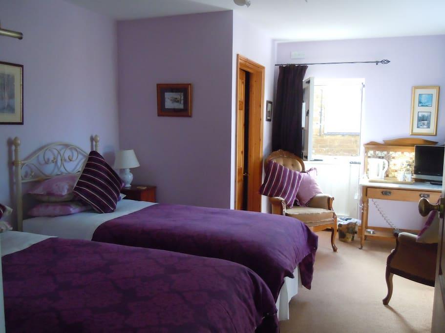 Churn Room - Twin or King Bed