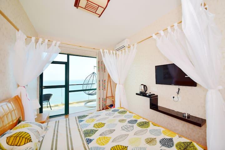 安达曼风情一线海景大床房 - Sanya - Osakehuoneisto