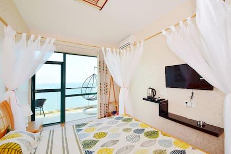 安达曼风情一线海景大床房 - Sanya