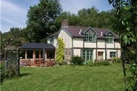 Idyllic country cottage Shropshire Ludlow 14 miles - Clunbury - 獨棟