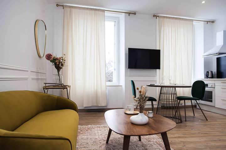 Le Contemporain 40 - Chic et élégant appartement
