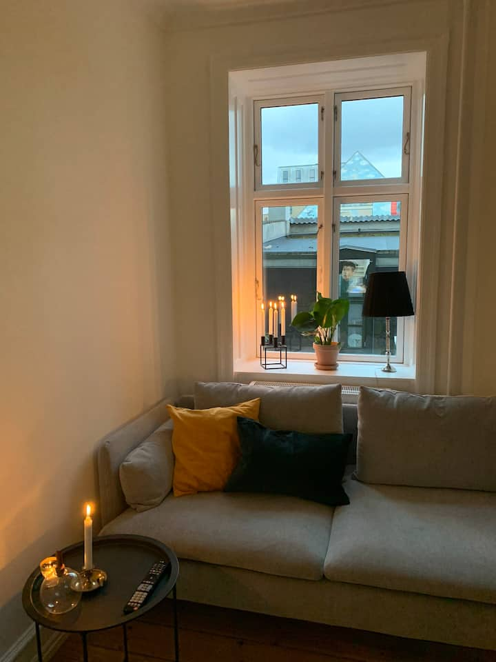Cozy and modern apartment in the heart of Nørrebro