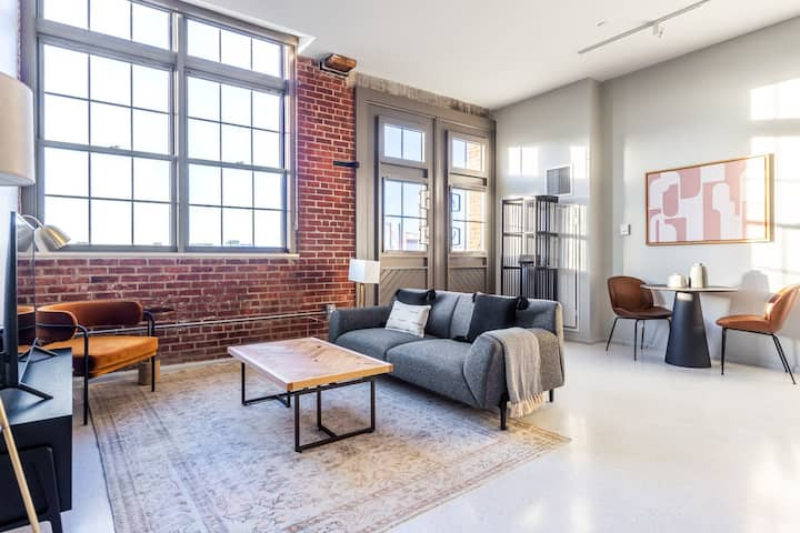 Stunning Charlestown 1BR w/ W/D, Roof Patio, Doorman, by Blueground