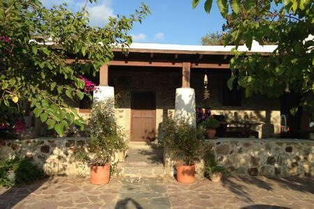 Beautiful stone-house with garden - Gümüşlük Belediyesi - Casa