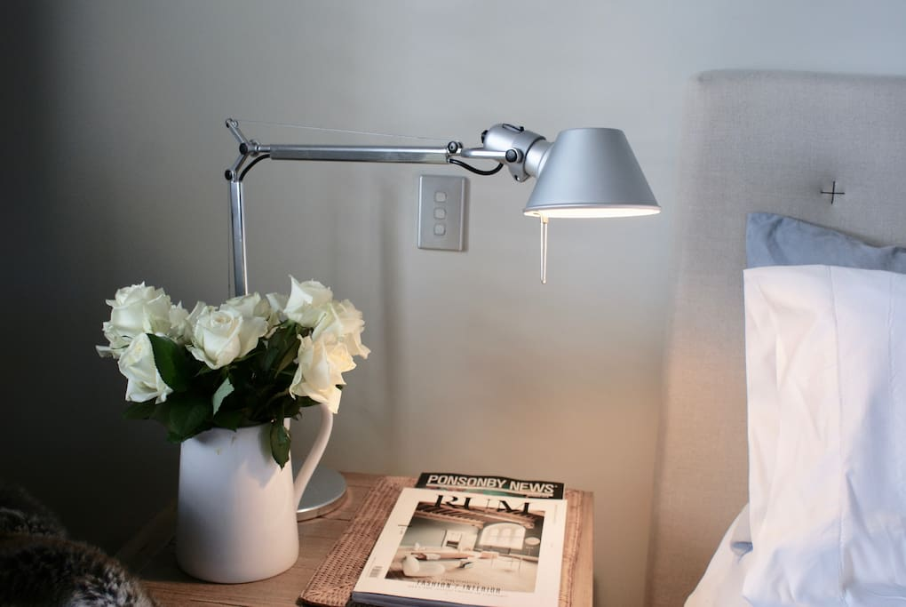 Task reading lamps