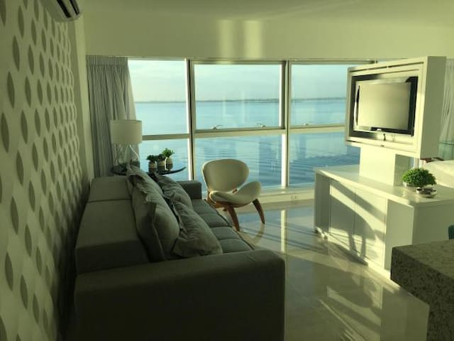 Apartamento com linda vista - No Barra Shopping