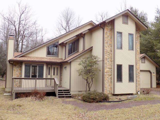 Lake Harmony Estates Home, Updated, Spacious, Open