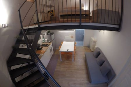 Little Loft near porta Susa station and subway - Turin