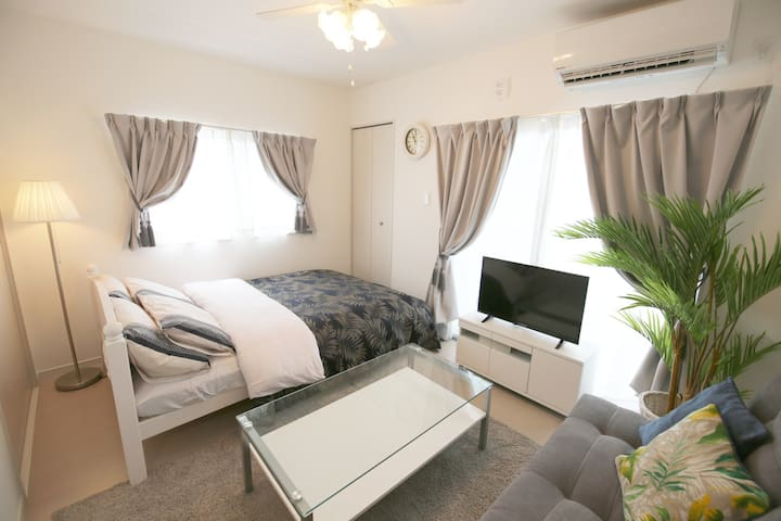 Near Naha Airport! Private flat! AS457#403