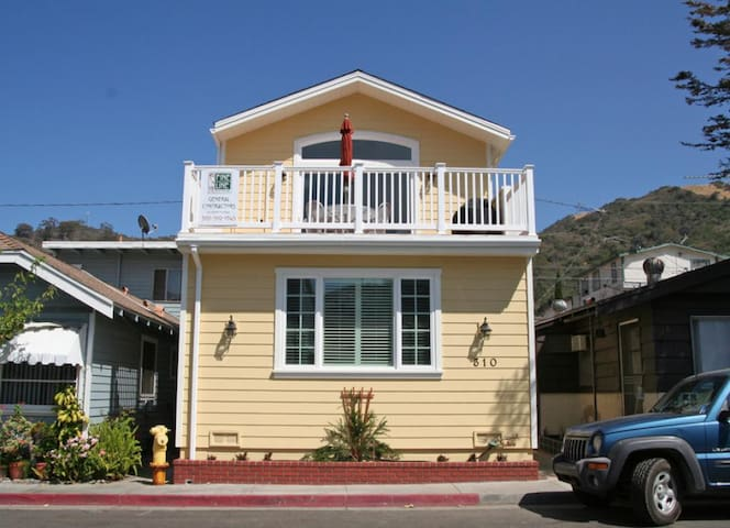Inviting Remodeled Home, 2 Blocks from the Beach, A/C, WIFI, Deck, BBQ - 310 Descanso
