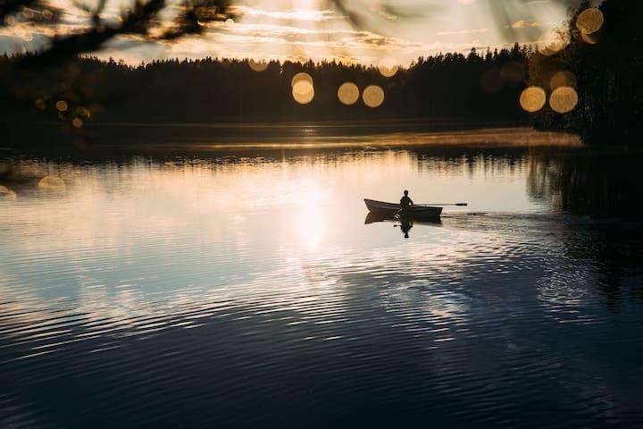 Kuusi Cabin at KATVE Nature Retreat near Helsinki