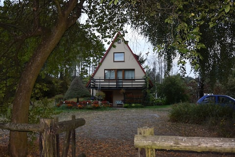 Big House with Sauna, 25-metre from the lake