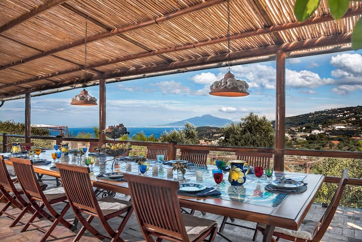 Antica Limonaia - Villa Surrounded by Lemon Groves