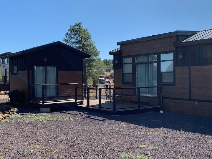 The Mountain Mini: Relaxing tiny home with casita