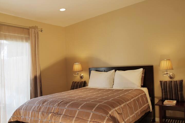 M-Suite | Private Bathroom & Cabaña - Santa Barbara - Domek gościnny