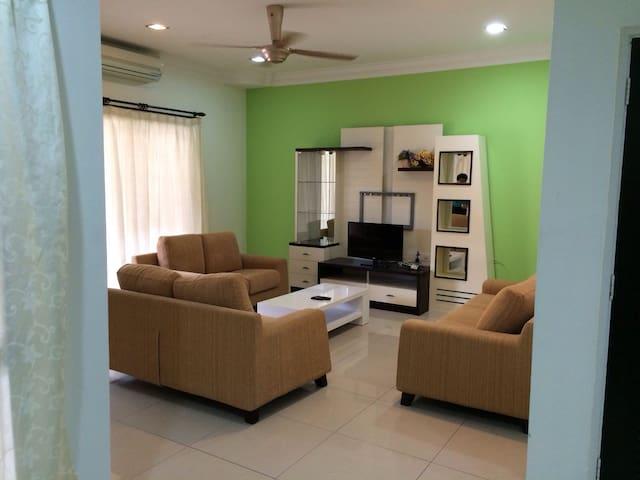 Fully Furnished Double-Storey House