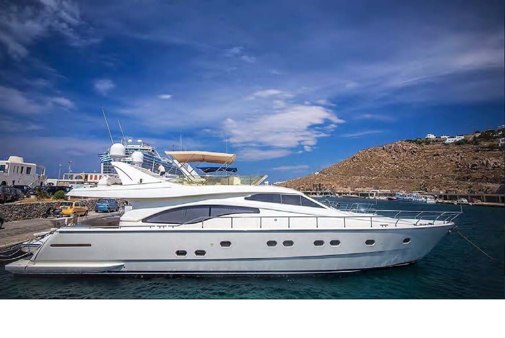 Ferretti 68 Fly Bridge.