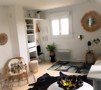 Studio résidence calme proche plage