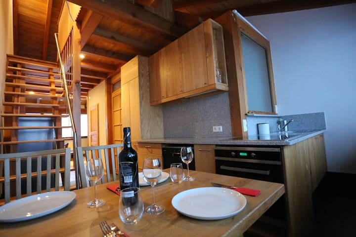 Great, high-quality apartment with alps view