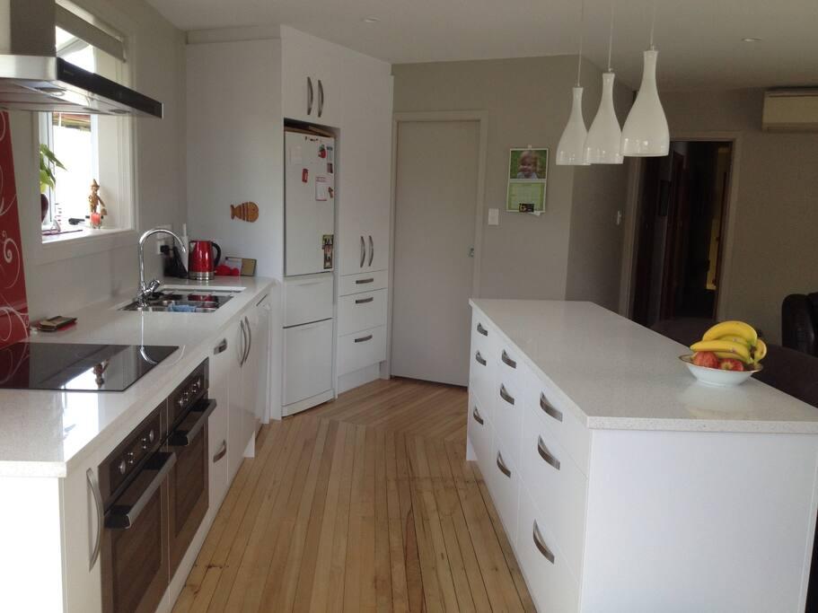 Kitchen area for breakfast