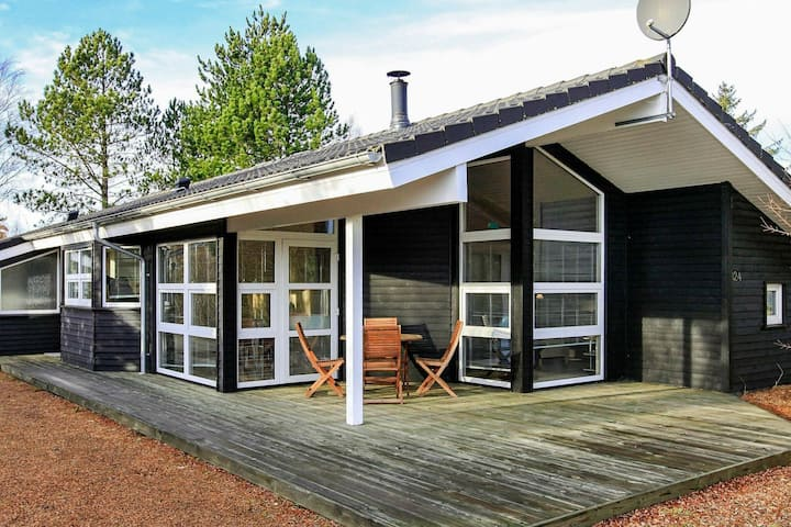 Modern Holiday Home in Ålbæk with Private Sauna