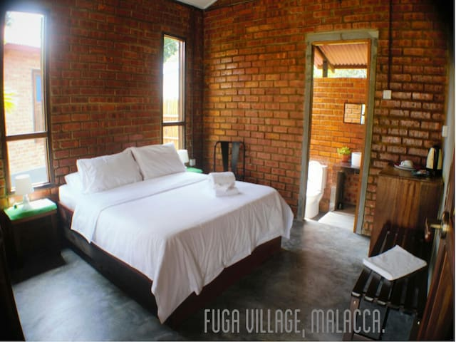 Malacca BeachGetaway Chalets by Fuga Village.