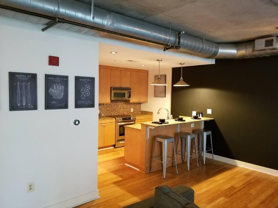 Kitchen/Bar Area 1