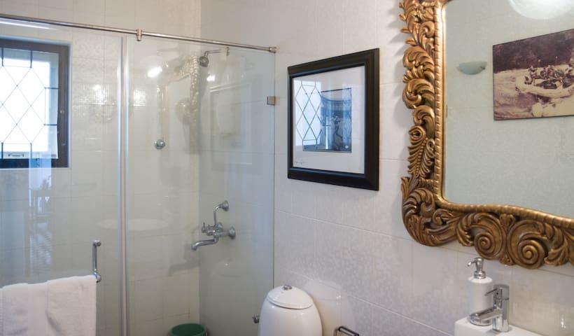 Guest bathroom.