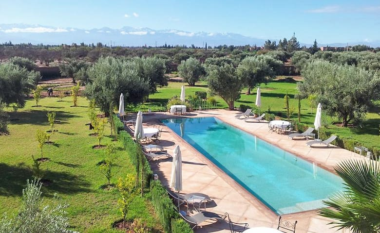 Luxury villa near Marrakech w/pool - Marrakech - Villa