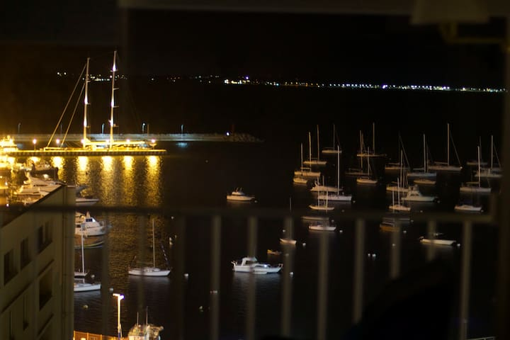 Another picture taken by our guest Fermín. Night view from the living room. Thank you Fermín!