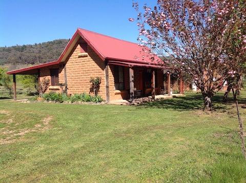 Lavender Delight, spa cottage. lavender farm stay.