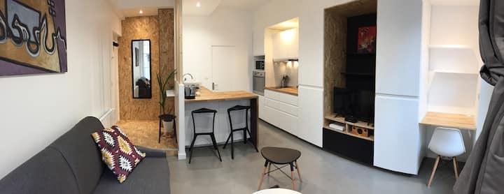 Studio tout confort centre historique