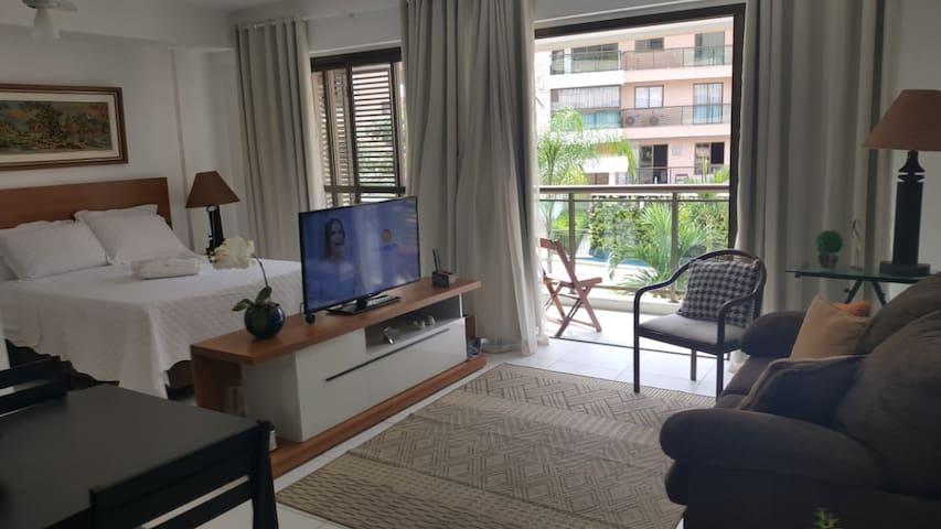 Apto no Condomínio All Suites, Centro de Itaipava
