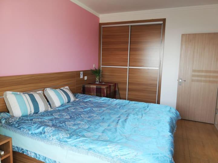 临近海滨,凯森蒙华府高层一居室40平,干净温馨,家的感觉