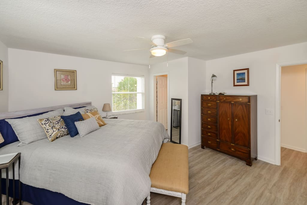 Large Master Bedroom with Private Bath