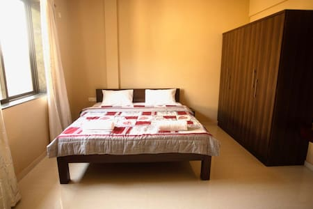 X & Z Residency apt no. 1 is 3 kms from baga beach
