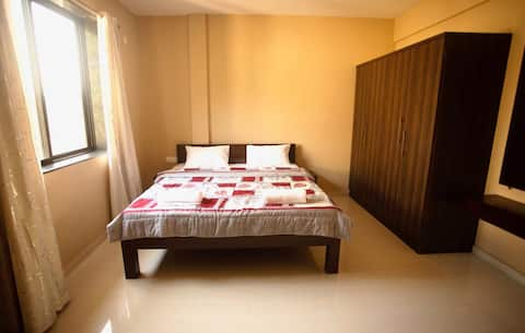 X & Z Residency apt no. 1 is 3 kms from baga beach